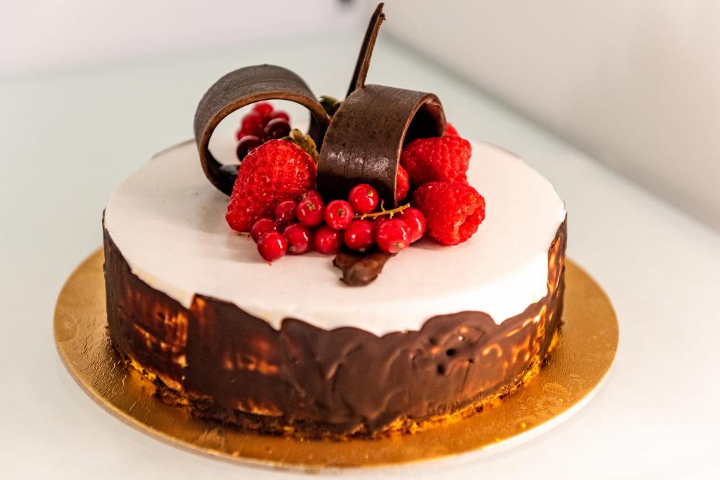 Torta gelato cremeria cavour